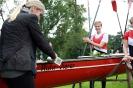 Sommerfest 2014 Bootstaufe Bürgermeisterin Ruhr-Vierer